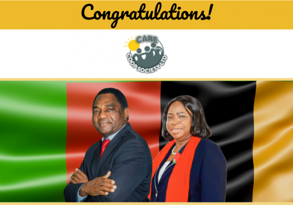 Congratulations Your Excellency Mr. Hakainde Hichilema the President Of The Republic Of Zambia